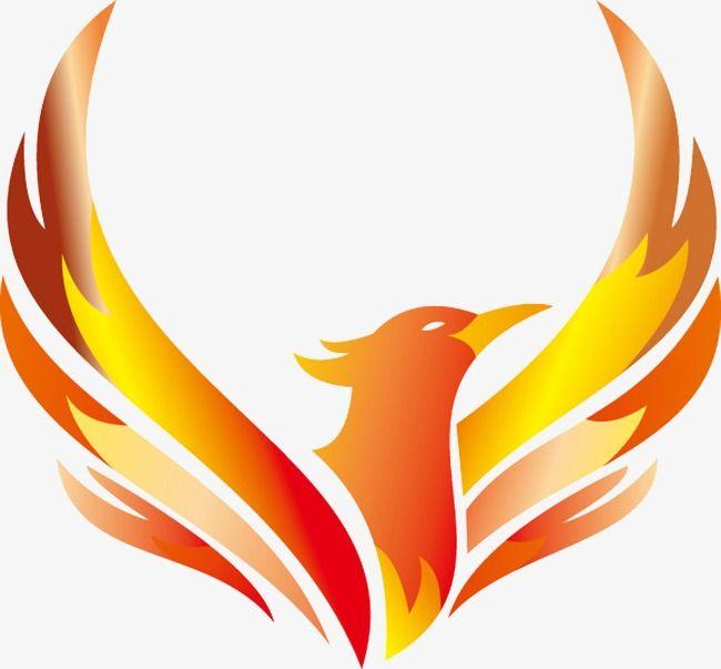 phoenix clipart flying