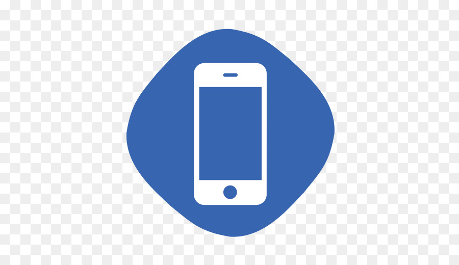 cell phone clipart blue