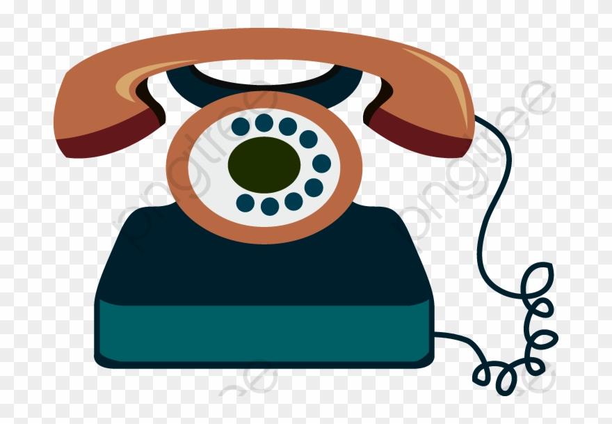 Telephone clipart cartoon.
