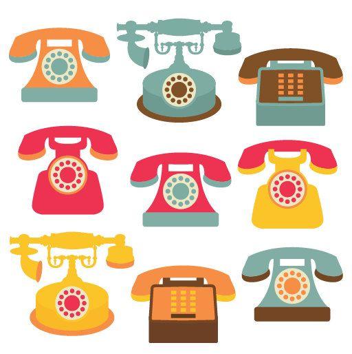 Phones graphic design.