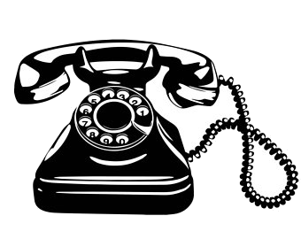 Phone old telephone.