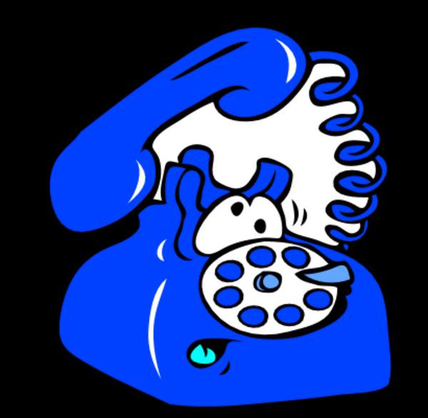 Clipart telephone ringing.