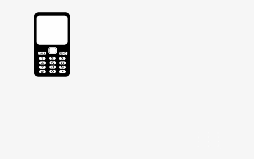 Small cell phone.