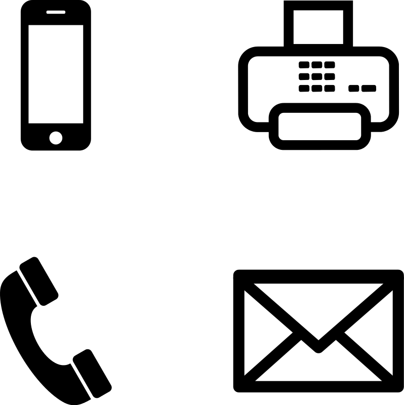 Clipart telephone small.