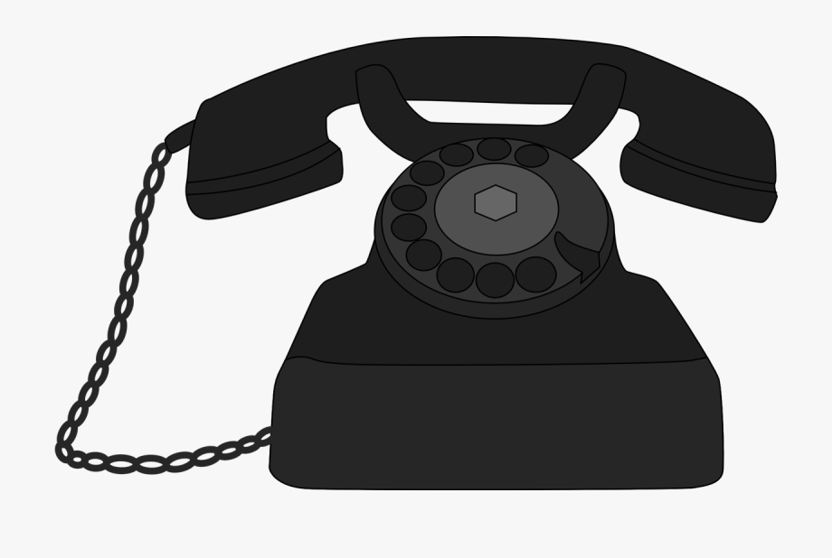Telephone phone clipart.