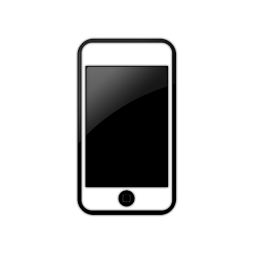 Cell phone icon.