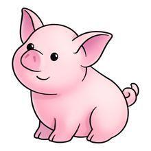 Pig clipart google.