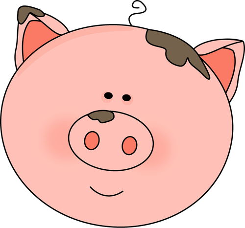 Free pig clipart male. Cute download clip art