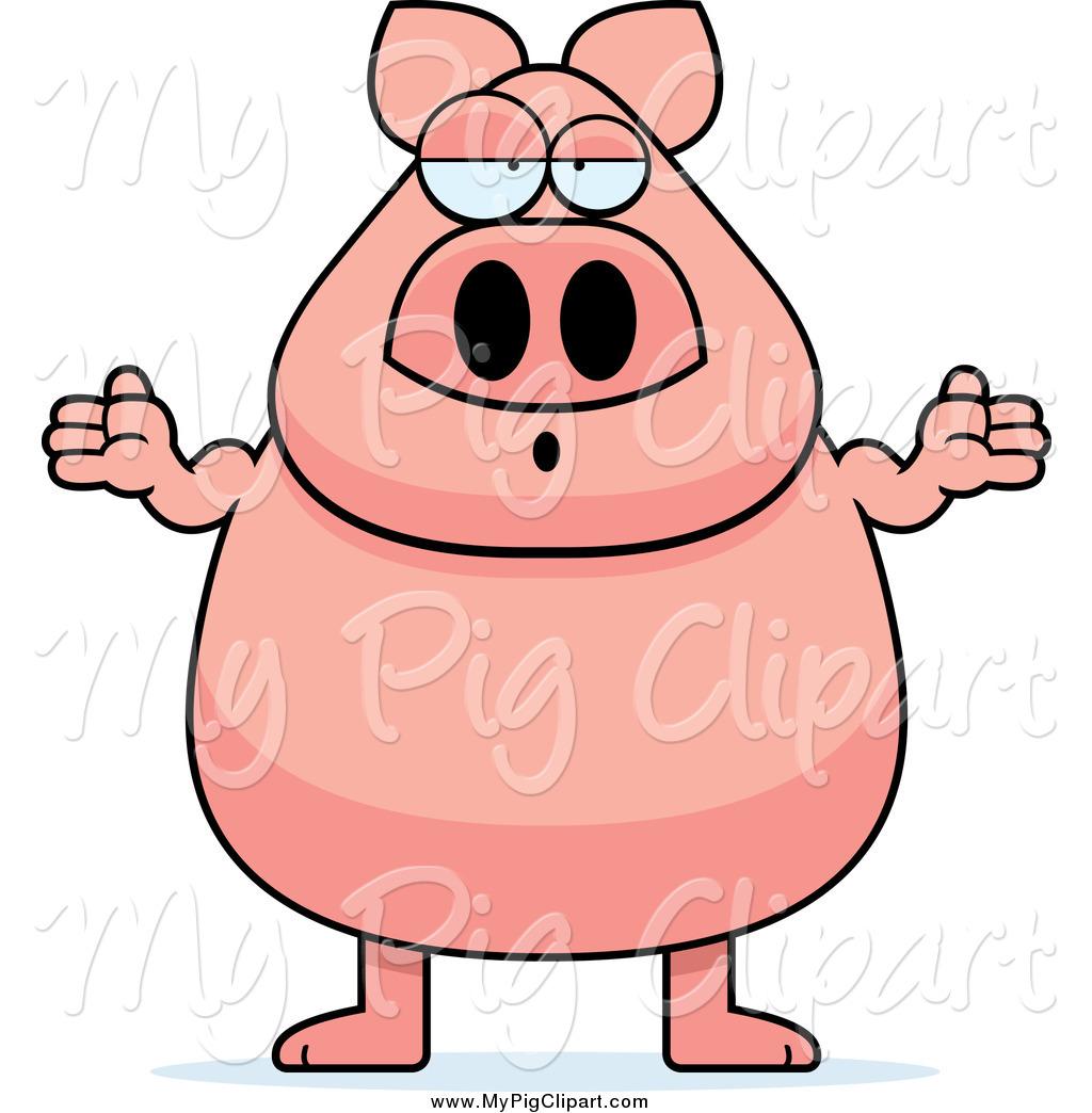 Swine clipart careless.