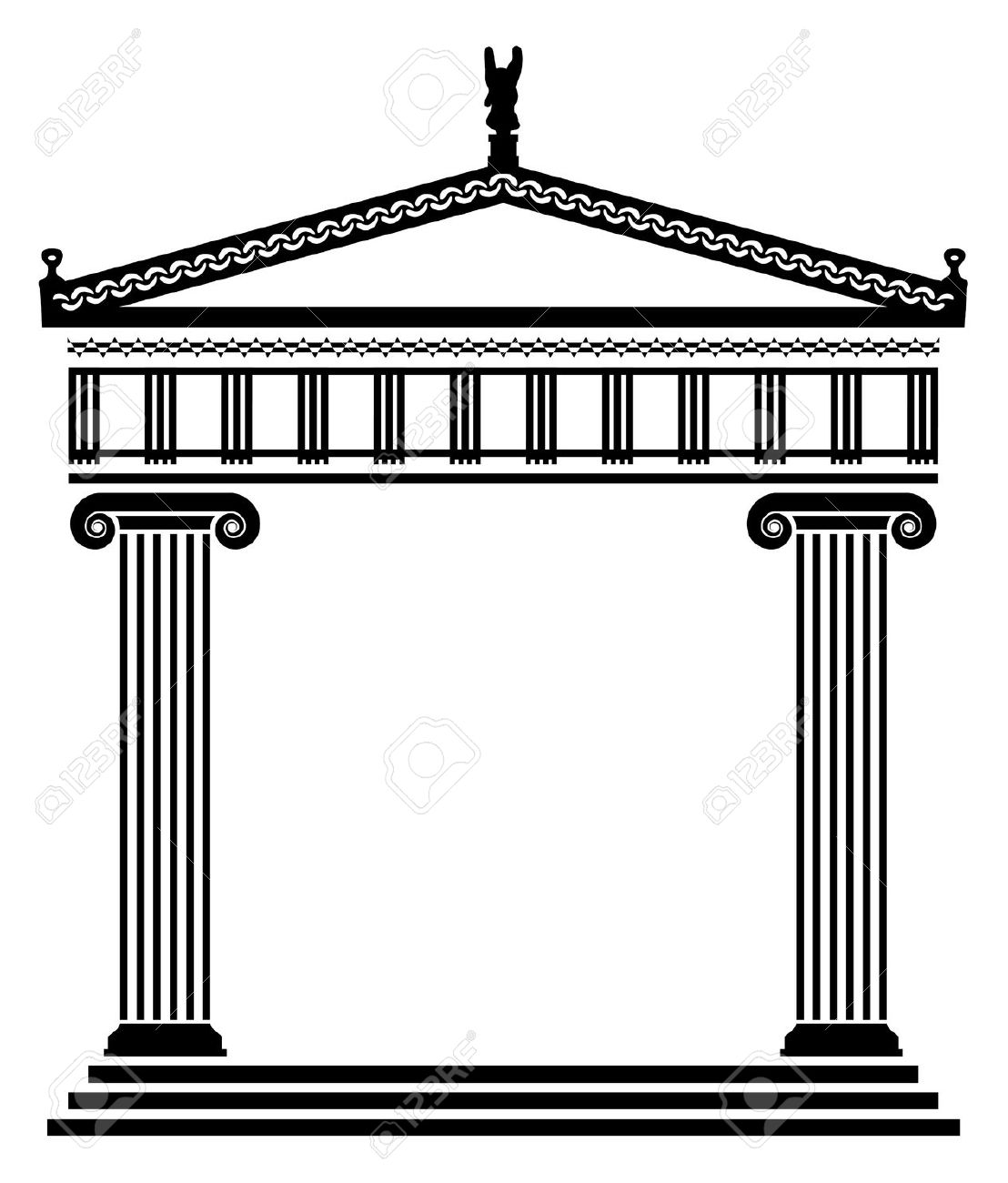 Free Greek Temple Cliparts, Download Free Clip Art, Free