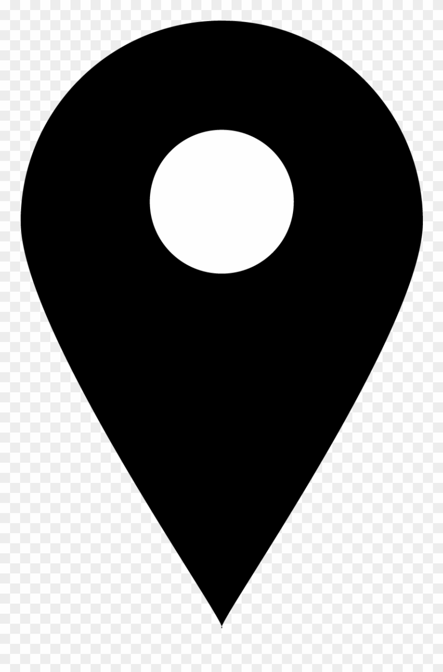Location Icon Png Black Clipart