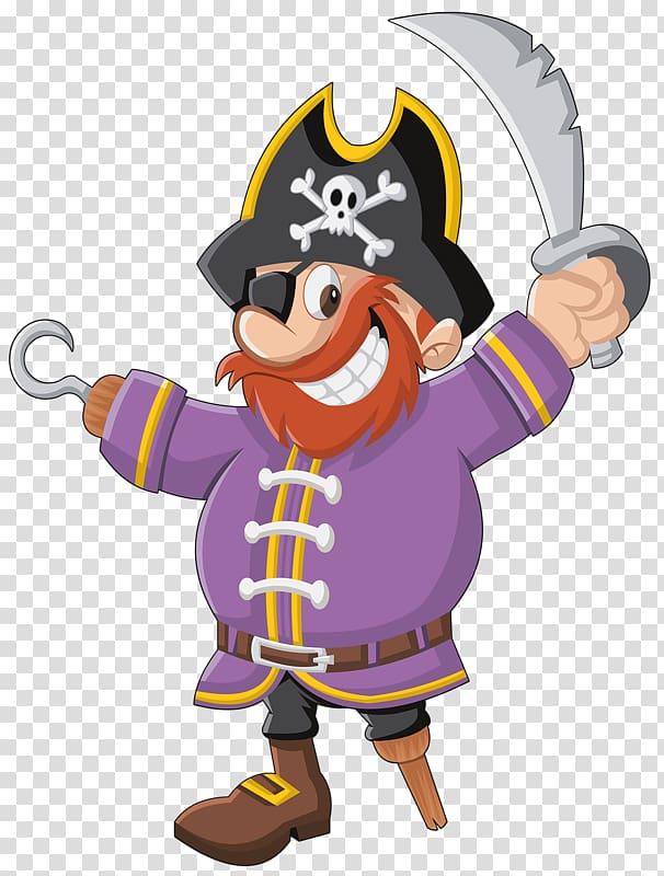 Pirate artwork drawing.