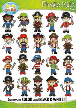 Pirates kid characters.
