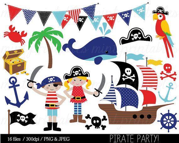 Pirate clipart pirates.