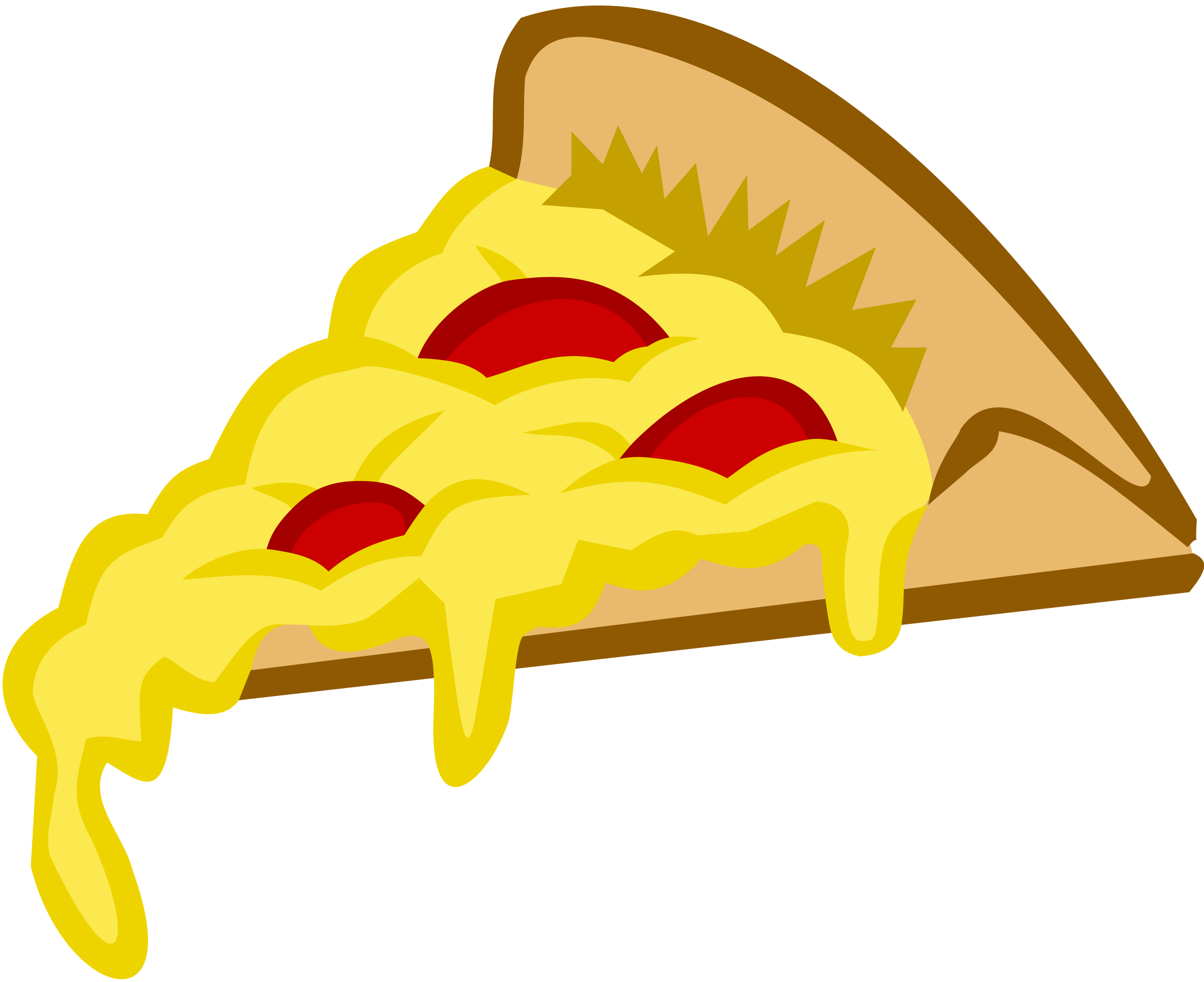Free Clipart Cheese Pizza