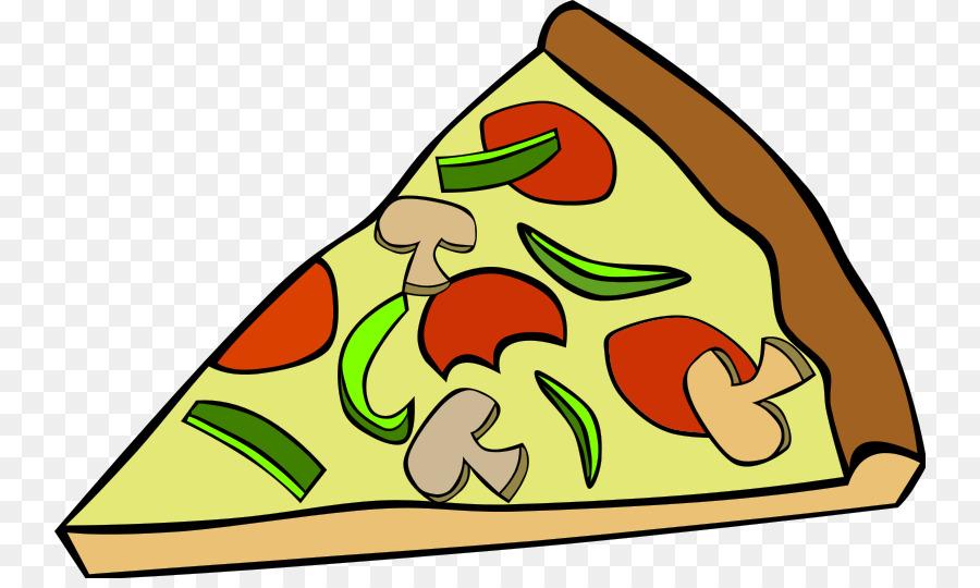 Pizza margherita clipart.