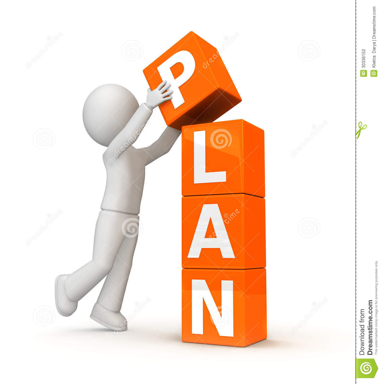 Plan of work clipart