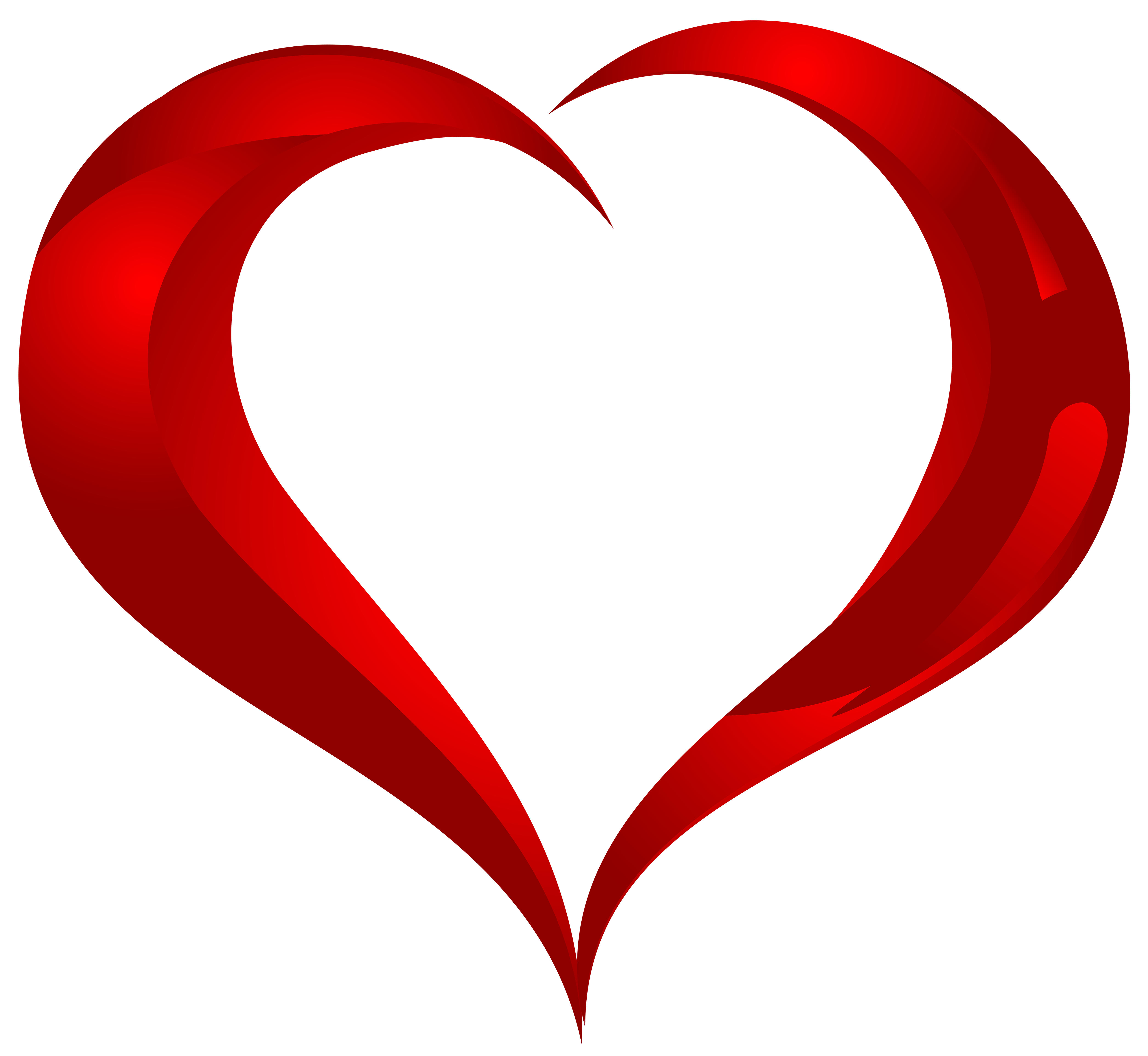 Beautiful heart png.