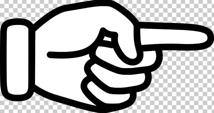 Index Finger Pointing Hand Digit PNG, Clipart, Area, Black