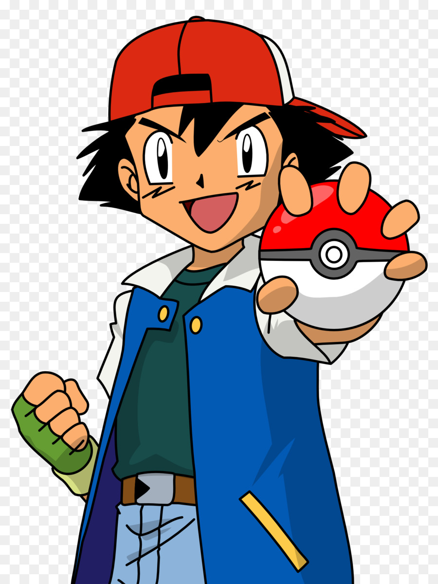 Ash And Pikachu clipart