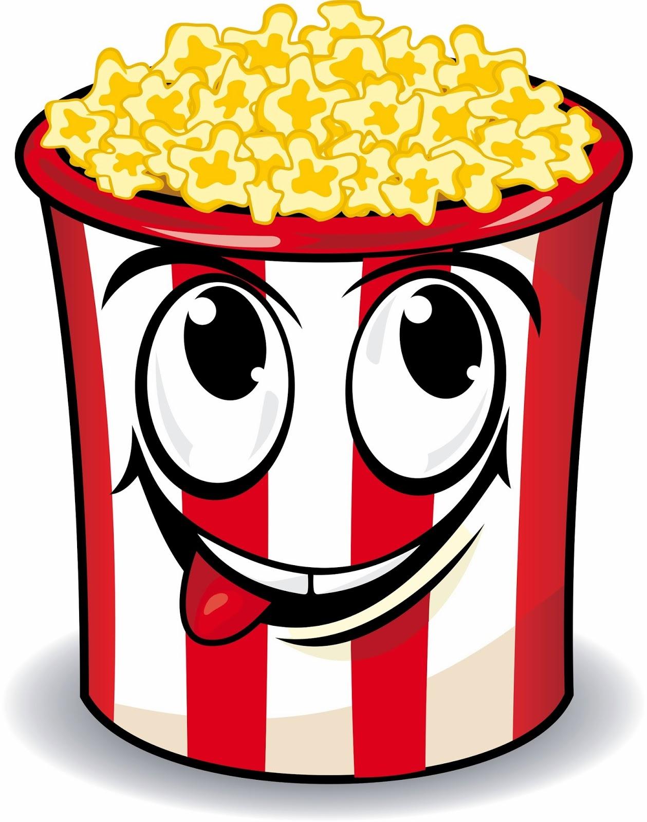 Carnival popcorn clipart.