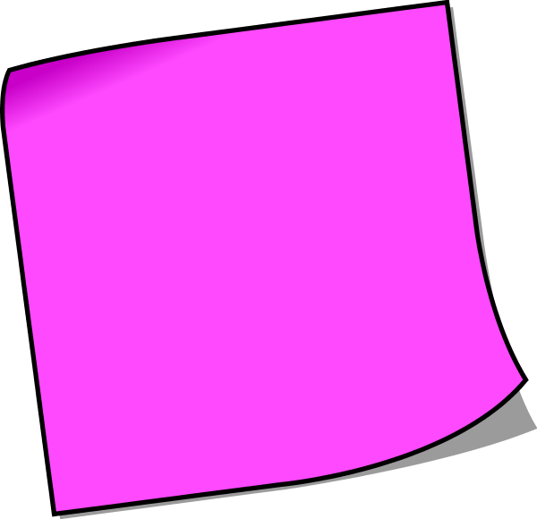 post it note clipart large