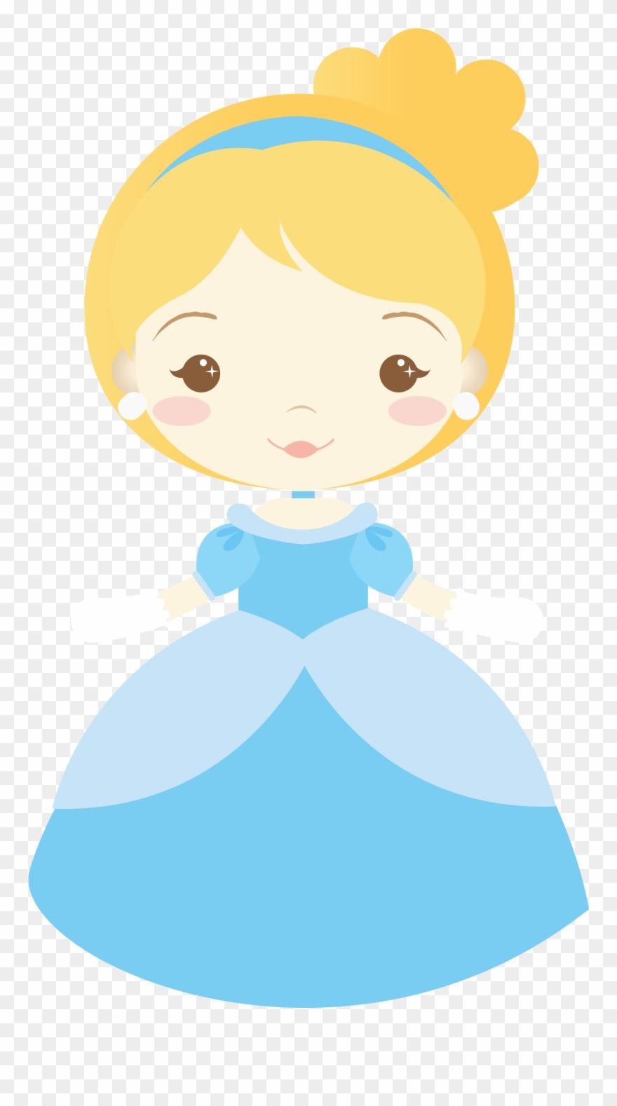Baby cinderella princess.