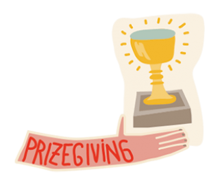 Prize giving ceremony clipart