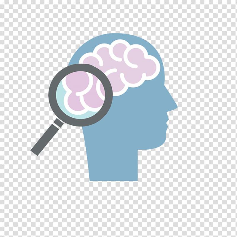 Psychology Therapy Psychiatry Psychiatrist, magnifying glass