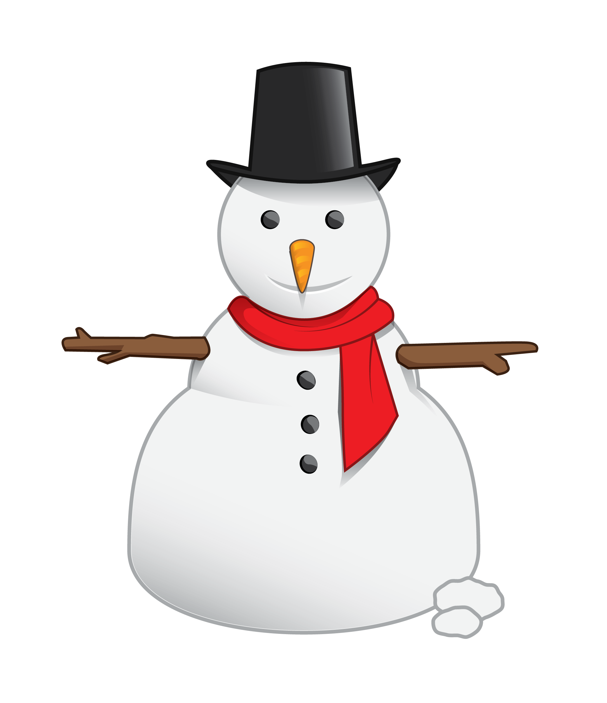 Best snowman clipart.