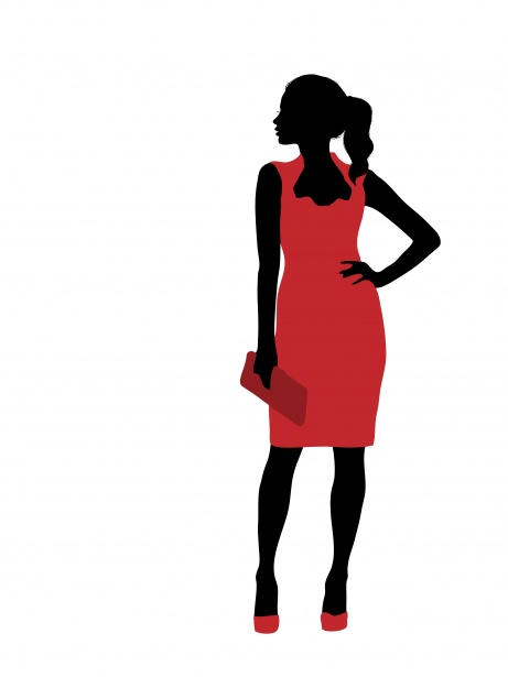 fashion clipart model