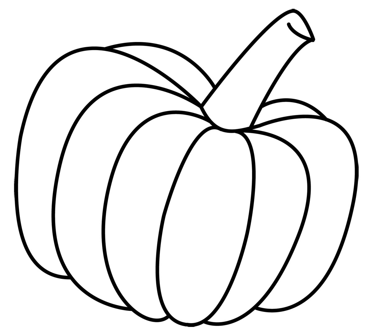 Free Pumpkin Line Drawing, Download Free Clip Art, Free Clip