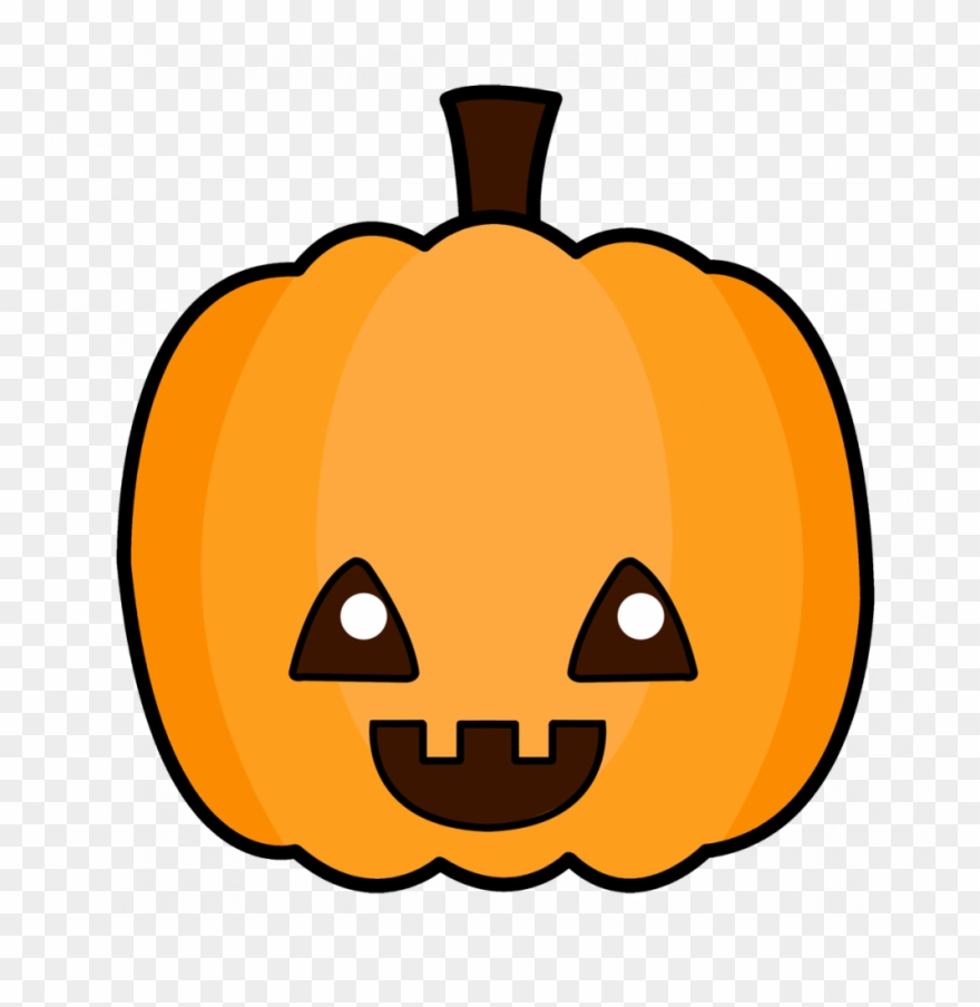 Coloring Pages Cute Cartoon Pumpkins Free To Use Pumpkin