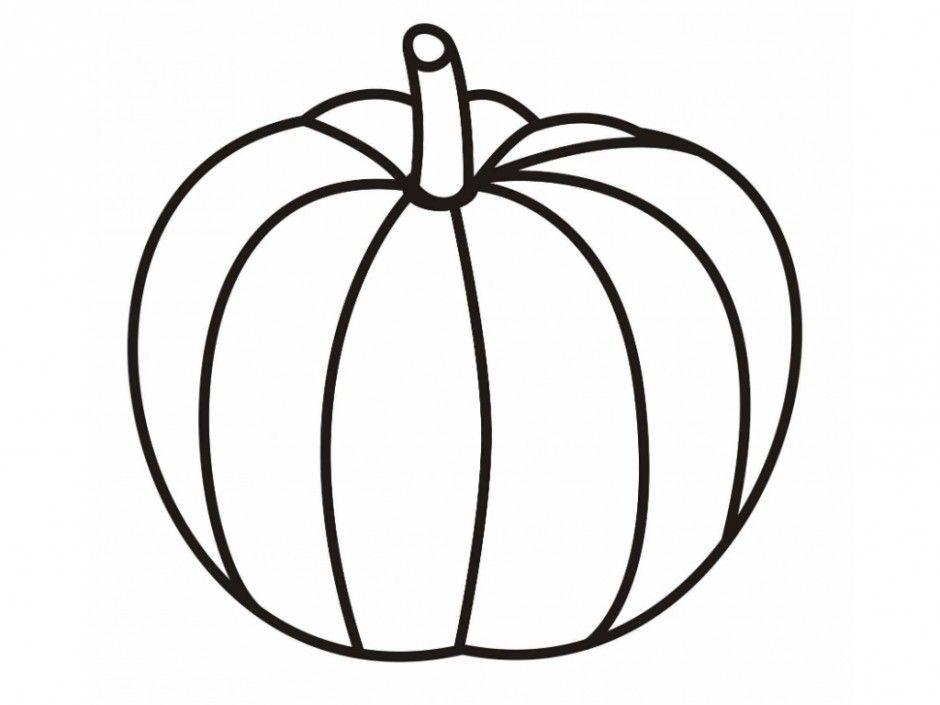 Free blank pumpkin.