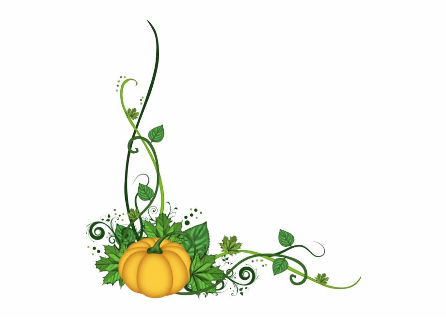 Flourish pumpkin clipart.