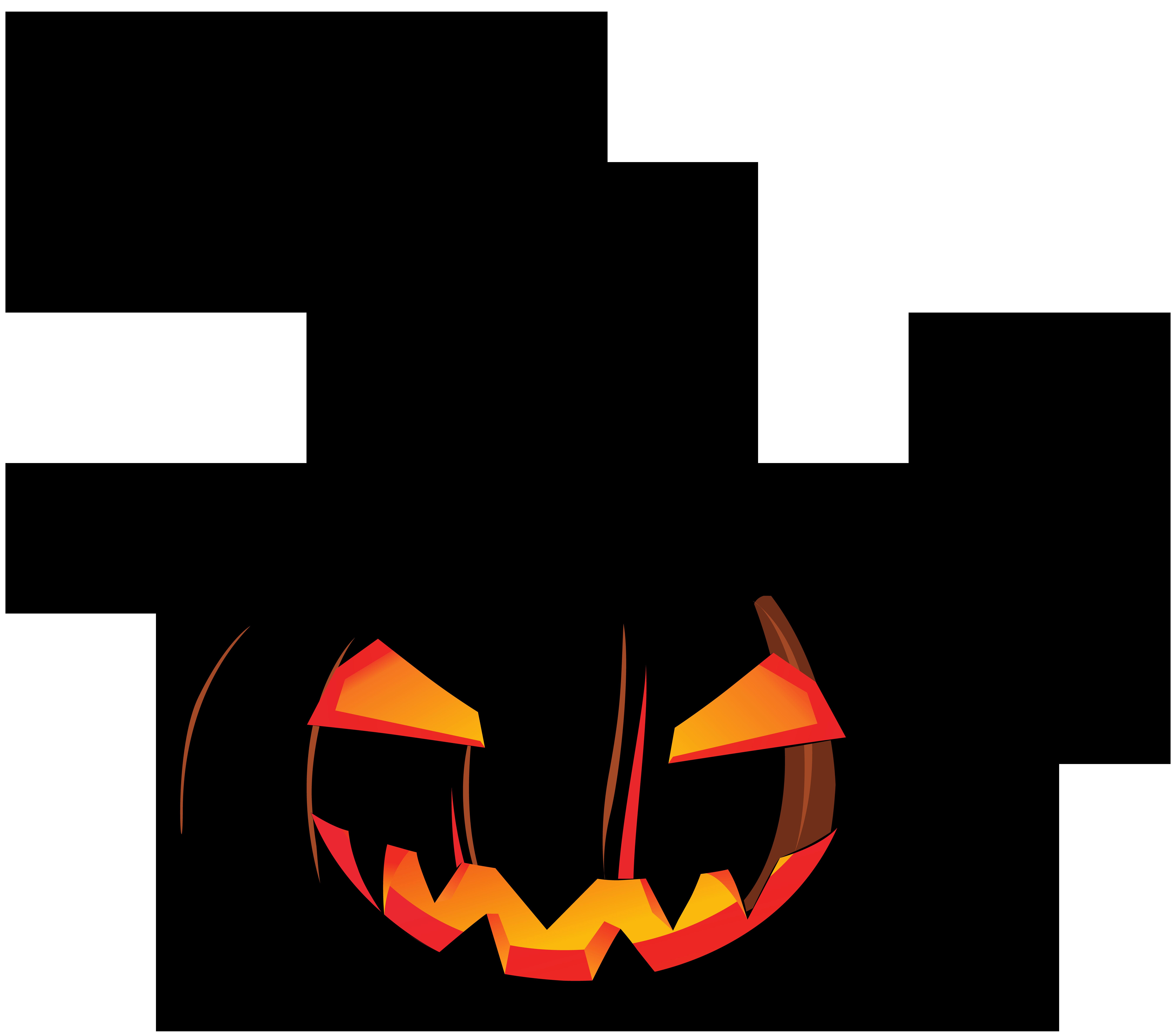 Pumpkin clipart creepy, Pumpkin creepy Transparent FREE for