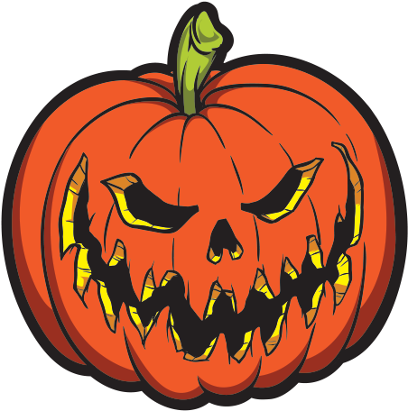 Evil pumpkin png.