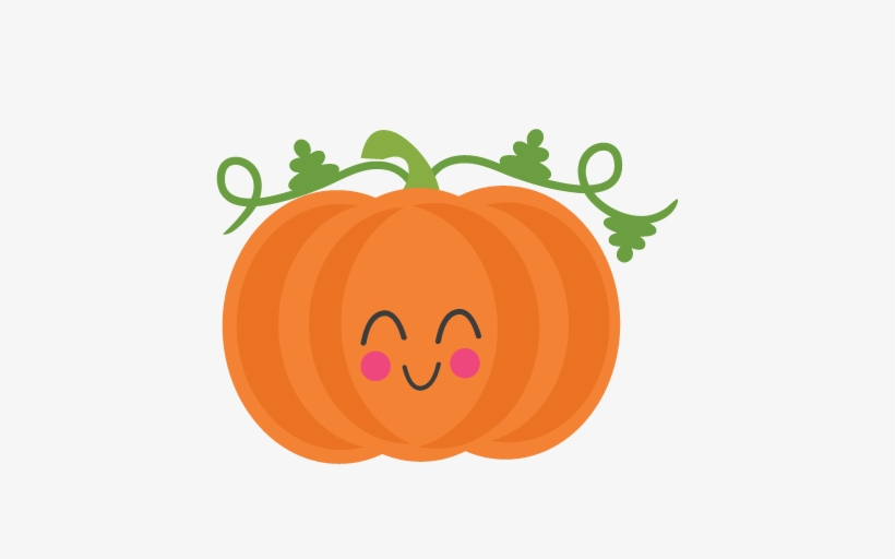 Pumpkin vector clipart.