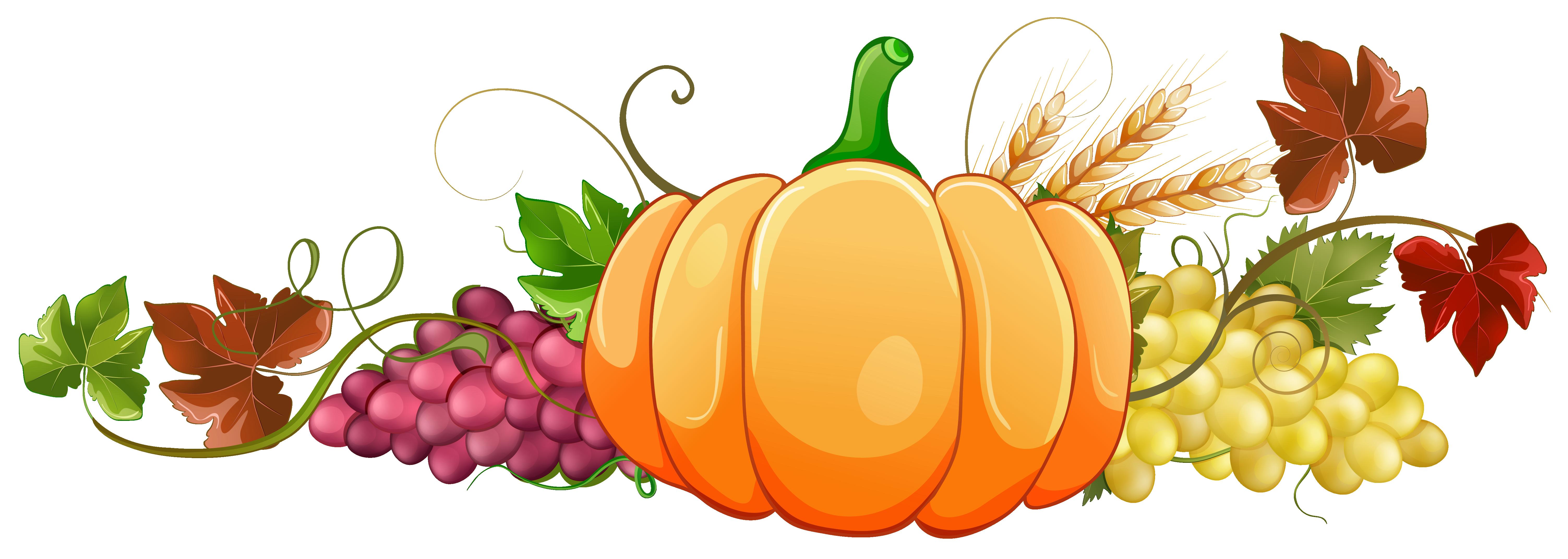 Fall pumpkin clipart.
