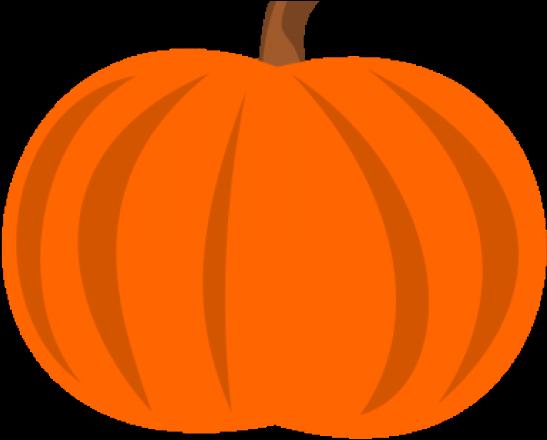 Pumpkin clipart sign.