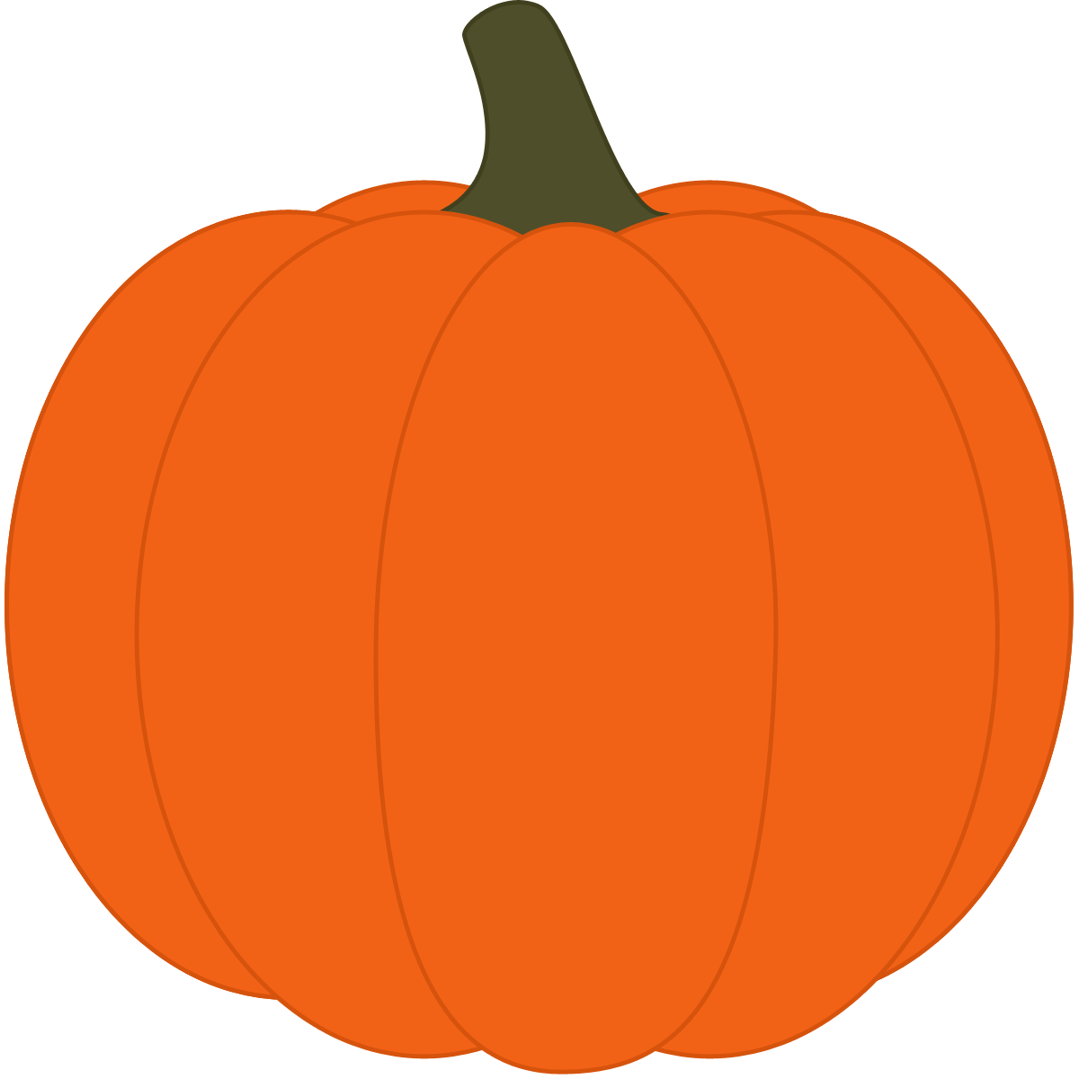 Pumpkin Clip Art For Kids