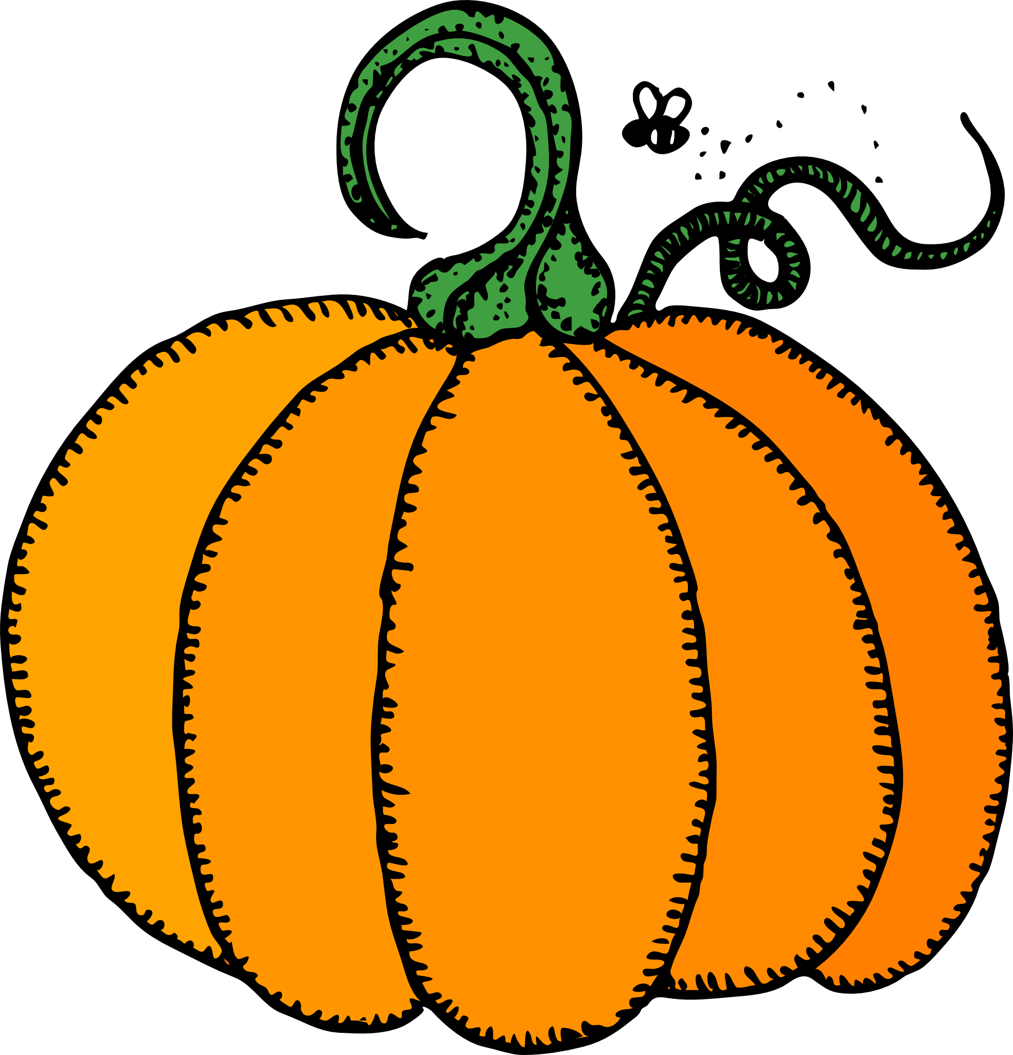 Clipart pumpkin october.