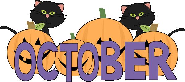 October october pumpkins.