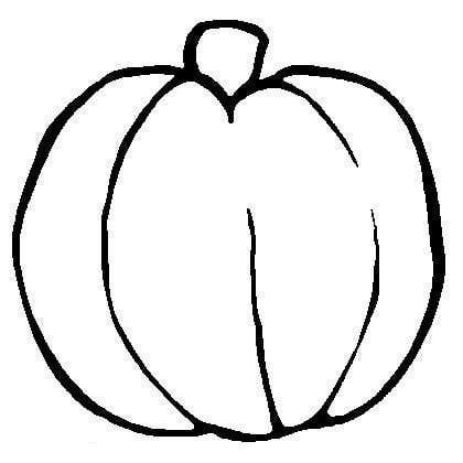 Free Outline Of A Pumpkin, Download Free Clip Art, Free Clip