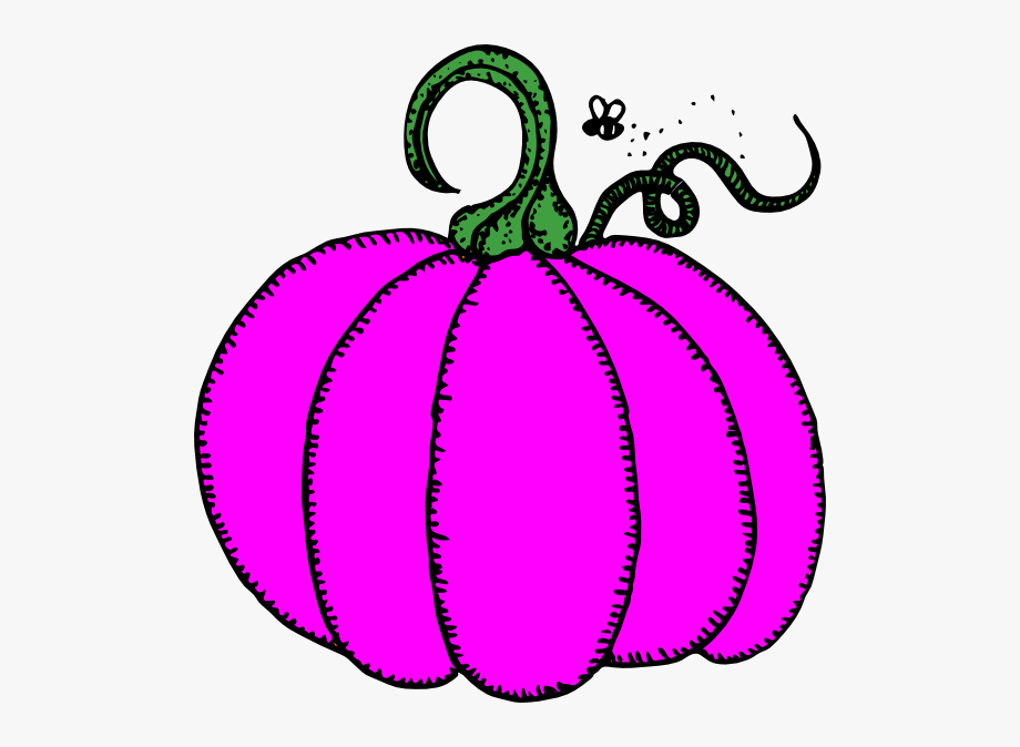 Girly Pumpkin Cliparts