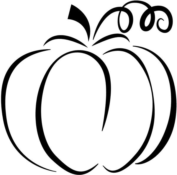 Pumpkin silhouette Free vector in Adobe Illustrator ai