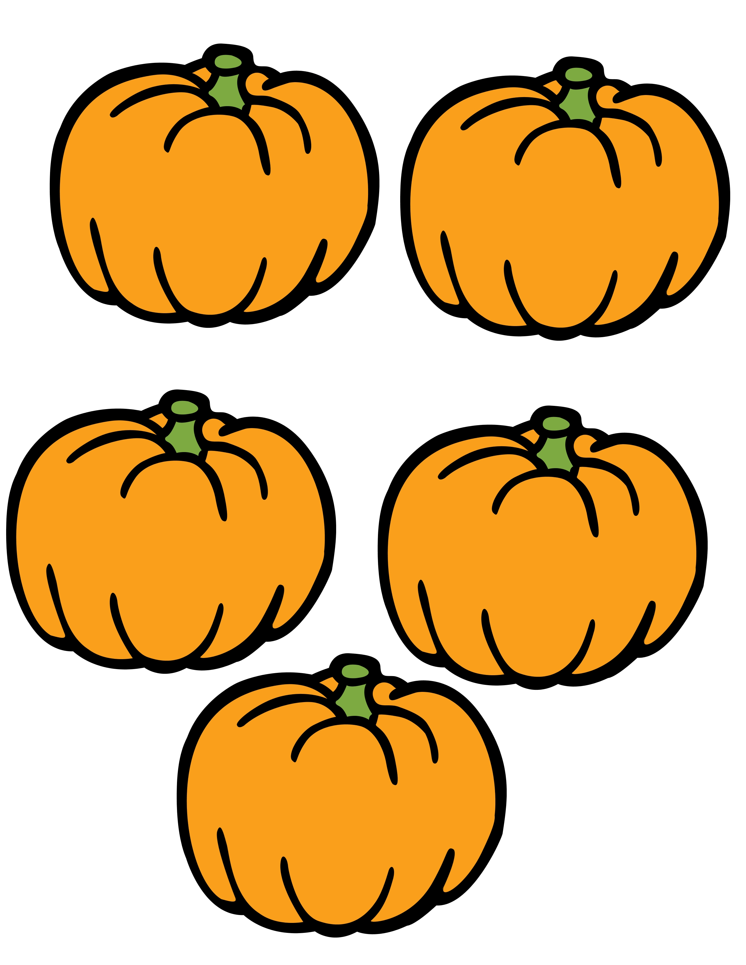 Little Pumpkin Clipart