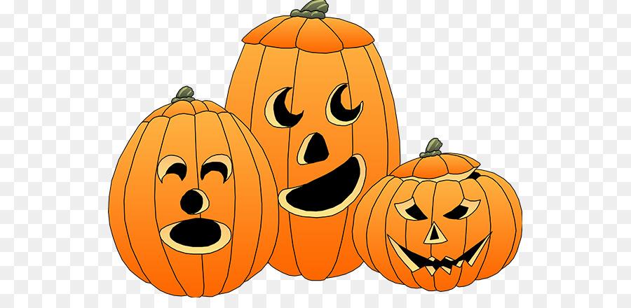 Spooky pumpkin cliparts.