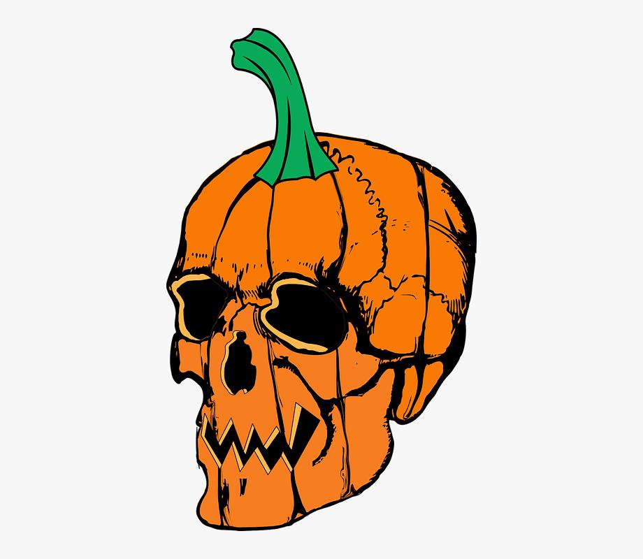 Skull pumpkin patch.