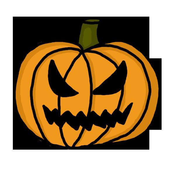 Free spooky pumpkin.